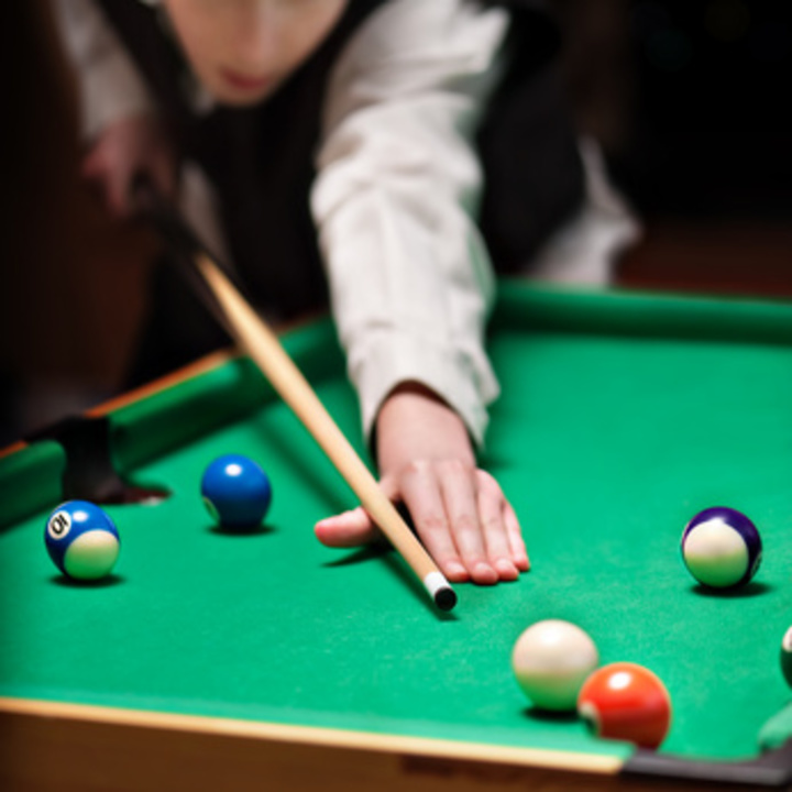Pool, Snooker & Billiards Training CD Album Cover